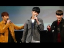 [Fancam] 161001 NU'EST Ma boy (by SISTAR 19) (JR, Ren Автограф-сессия в 'Jayla Art Hall')
