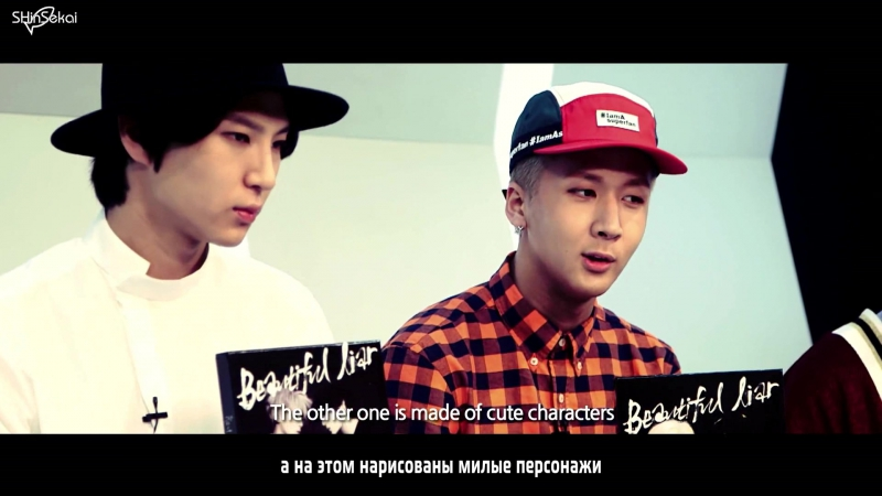 [RUS SUB] Vehind VIXX LR's Incredible time