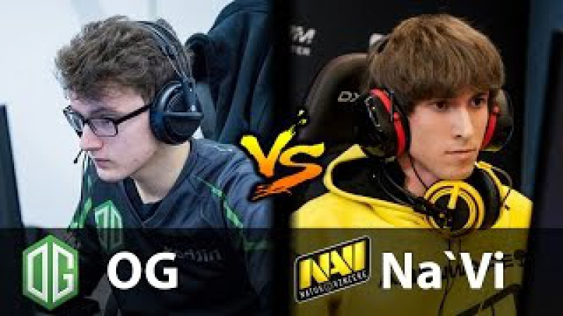 OG vs Na`Vi - [MIRACLE- SUPPORT??] - Dota 2 6.88