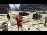 GTA 5 лучших моментов Brutal убийств 9 GTA 5 забавных моментов Сбой компиляции