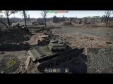 War Thunder Переправа через Рейн. Тактика и немного удачи на примере одного боя