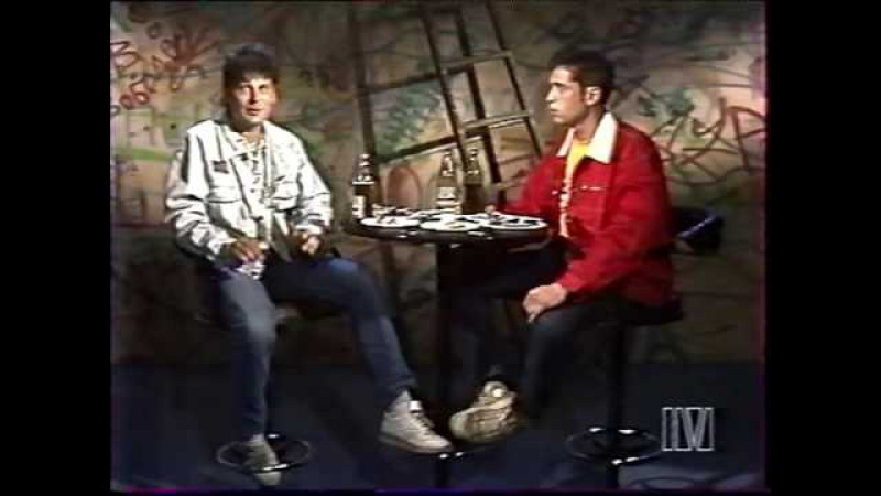 Юрий Клинских в передаче Муззон июнь 1996