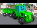 Tractor Fairy Tale for Kids Cartoons for children Bajki Traktor dla Dzieci Animacje