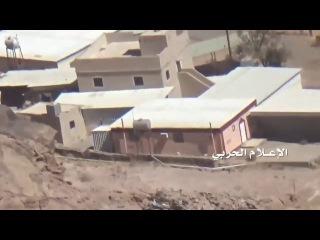 Йемен. Налет хуситов на саудовскую базу в провинции Асир. Подбили БТР и взорвали ...