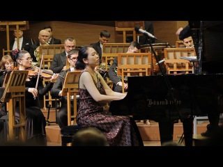Рахманинов, Концерт № 2 для фортепиано с оркестром - видеосъемка конце
