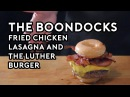 Binging with Babish: Fried Chicken Lasagna The Luther Burger from the Boondocks