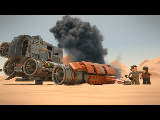Jakku Quadjumper - LEGO Star Wars - 75178 Product Animation