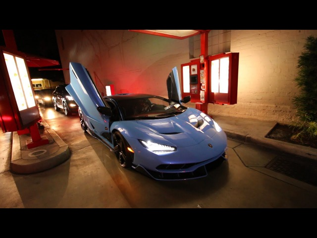 Midnight Run in the $2.3M Lamborghini Centenario