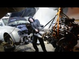 Установка V8 в обычном гараже