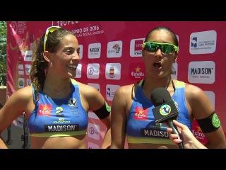 XS Power Drink: Madison Beach Volley Tour 2016 #1 Madrid (ESP)