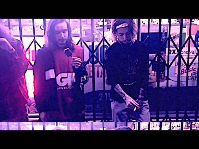 $uicideboy$ x Pouya - Runnin' Thru The 7th With My Woadies [Chopped Screwed] PhiXioN