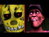 Five Nights at Freddy's Animation Compilation Forbidden Love Series (Part 1 - 3)