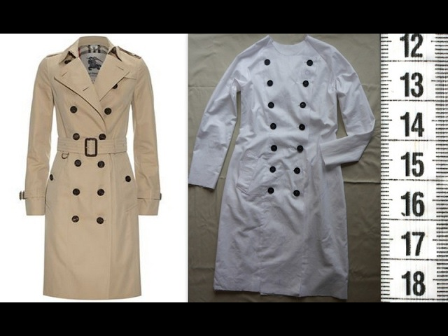 Я ШЬЮ: Тренч ч.1. Шью пробник. / I SEW: Basic trench-coat. Test.