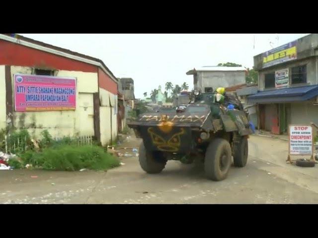 Philippines : les forces spéciales américaines sont à Marawi