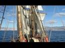 Sailing with Shtandart between Tenerife and La Gomera
