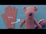 How to Turn a Glove into a Chipmunk || Creative Design