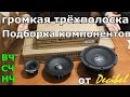 Громкая трёхполоска подборка компонентов от Decibel