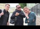 Леха Никонов, Антон Секисов, Евгений Алехин на Фонтанке, 20