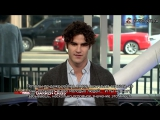 Darren Criss about Glee on Hollywood Today Live (рус.субтитры)