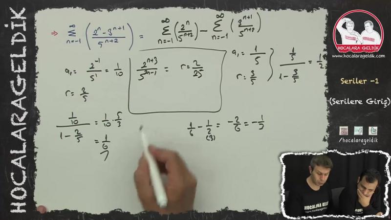 Seriler -1 (Serilere Giriş) - Matematik - HG