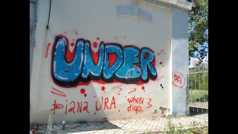 Граффити UNDER a.k.a. Whendigo MC