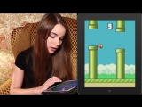 ПТИЦА УБИЙЦА Flappy Bird -- Детка Геймер 14 - Саша Спилберг.