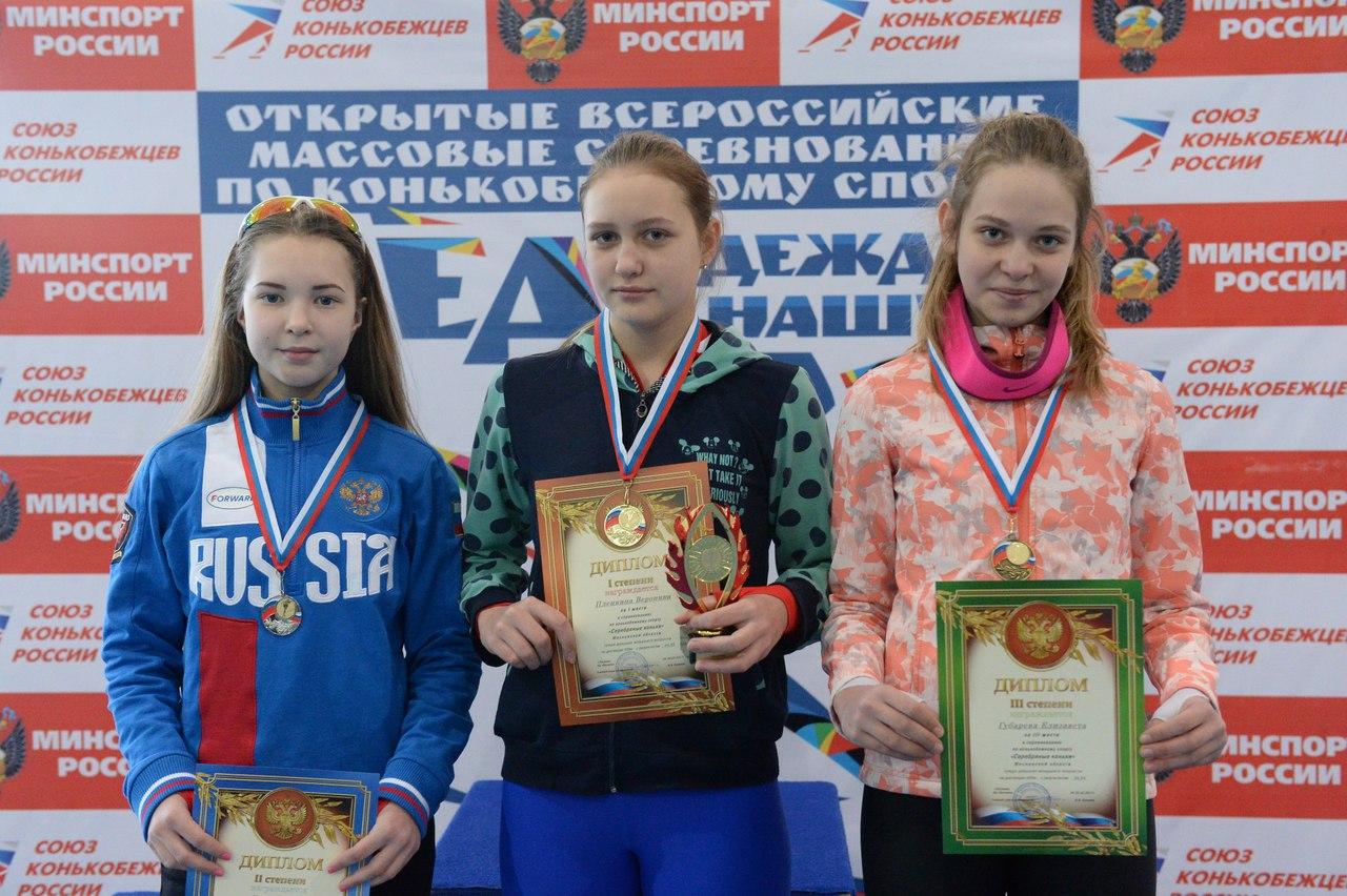 Итоги соревнований по конькобежному спорту «Серебряные коньки» Московской области, фото Коломна Спорт