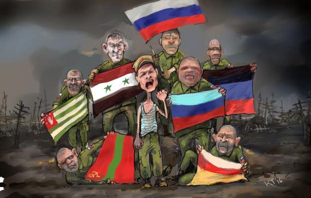 """""""И давно этот флаг висит здесь?"""", - бойцы ВСУ возле Станицы Луганской троллят российских террористов, вывесив на позициях флаг Турции - Цензор.НЕТ 6303"""