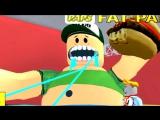 ПОБЕГ из плохого РЕСТОРАНА ROBLOX Приключение квадратного героя как майнкрафт видео для детей FFGTV