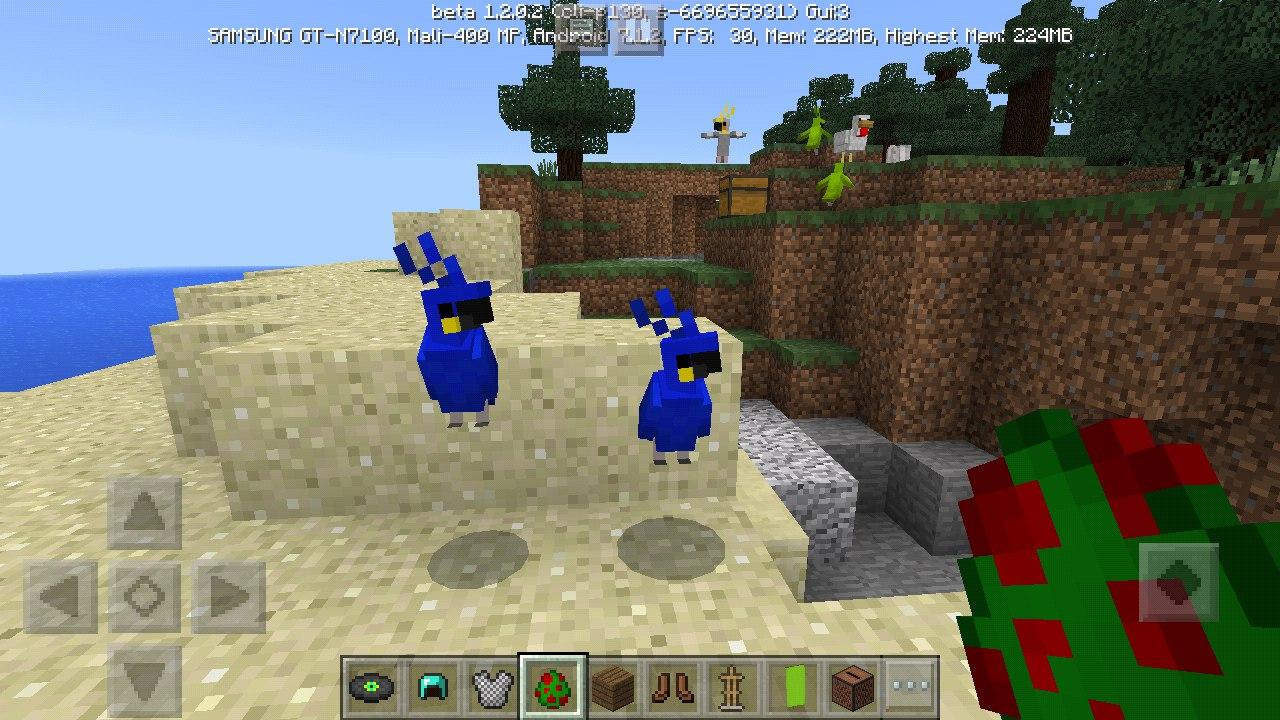 Скачать Minecraft PE 1.2.0