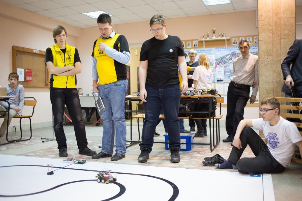 Результаты V Городских молодежных соревнований по робототехнике