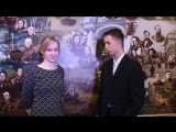 Кирил Сибякин берет интервью у Шамониной Галины Николаевной