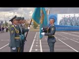 Торжественный выпуск кадетов в Щучинске. Кадетский корпус Министерства обороны РК имени Ш. Уалиханова