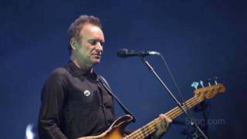 Sting Peter Gabriel - live 2016 Shock The Monkey Rock Paper Scissors tour