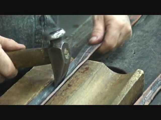 Making Leather Rounds