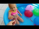Learn Colors for Kids Children Бассейн с Сюрпризами Много Сладостей Видео для детей Melissa Tv