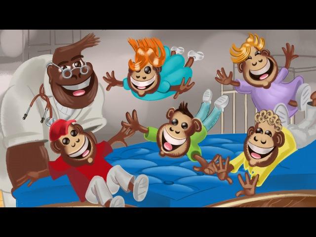 Ranko Damjanovic – Pet malih majmuna – (Official Video 2013) – Pesme za decu | Decije pesme