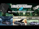 The NFS Underground 2 Beta All Removed Content Ft HGCentral