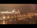 Фейерверк в Москве Прямосейчас Праздничным салютом Москва встречает 2017 год.