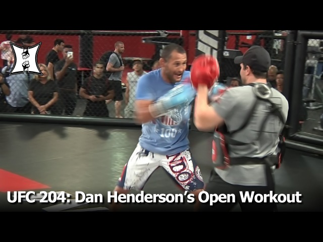UFC 204: Dan Henderson's (Possibly) Last Open Workout For Fans Media (Unedited)
