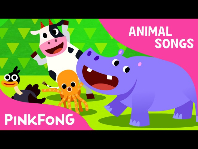 Animal Action Animal Songs PINKFONG Songs for Children