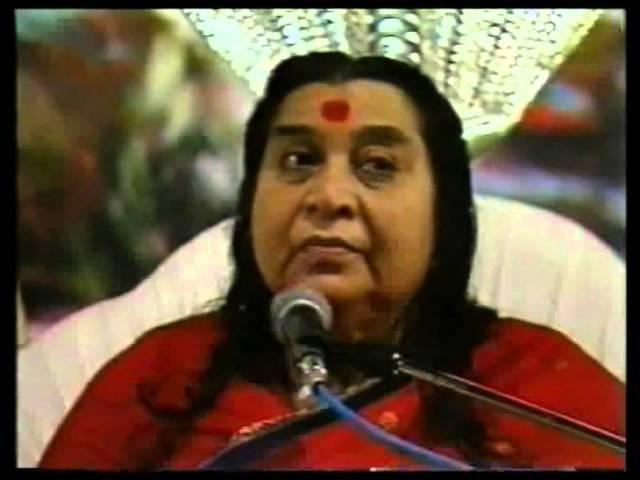 Пуджа МахаШиваратри /1991/ - Лекция Шри Матаджи