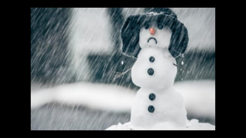 Снегопад в апреле. Матушка природа показывает, кто властвует над миром. Snowfall in Ukra...