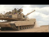 M1A2 Abrams vs Leopard 2A5DK in Action US Army training in Germany