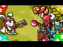 🐾 Кролик против демонов. 1. Мультфильм из игры. Детский мультик про спасение девочек зайчиков.