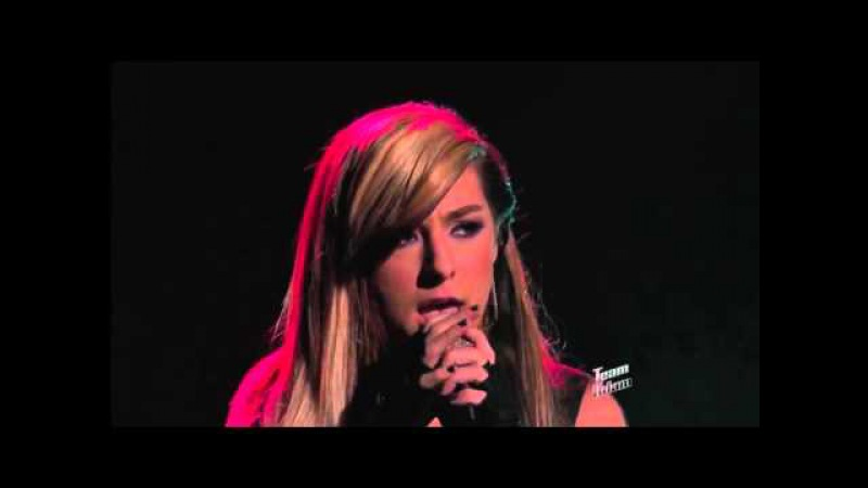 Christina Grimmie Sings America's Pick Wrecking Ball The Voice Highlight 1