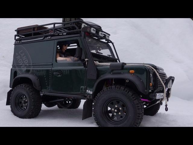 Rc Land Rover defender 90 WildBrit, defender 110 HCPU