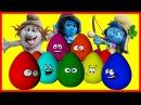 Kinder Surprise - The Smurfs. Смурфики - новый мультик Киндер сюрприз