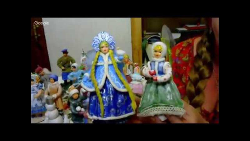 Елена Васько. панно новогодняя ночь - вата как объемный элемент
