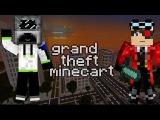Grand Theft Minecart на cristalix 3 ч.4 Катаемся в Метро с Деном